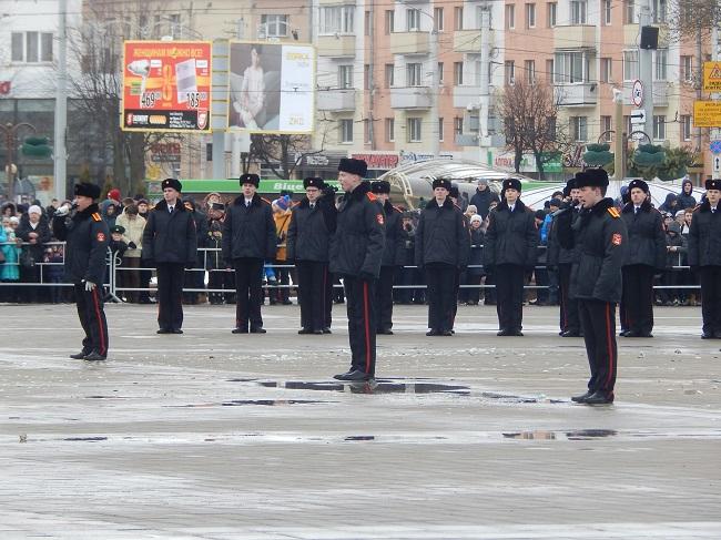 кадеты, площадь Победы