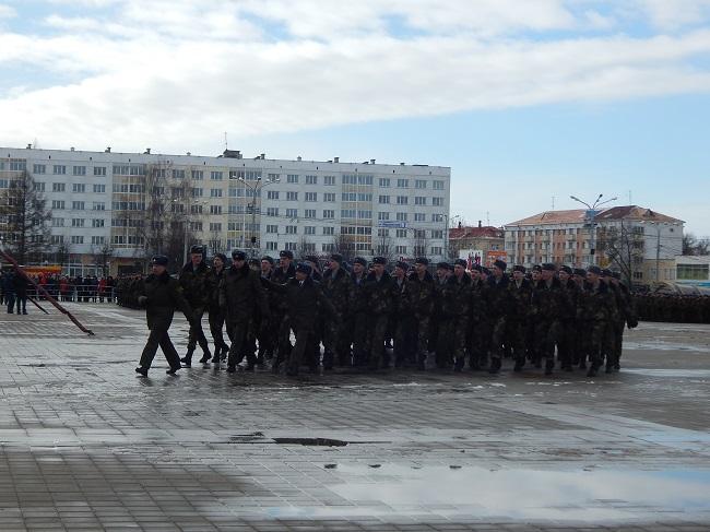 батальоны, 23 февраля