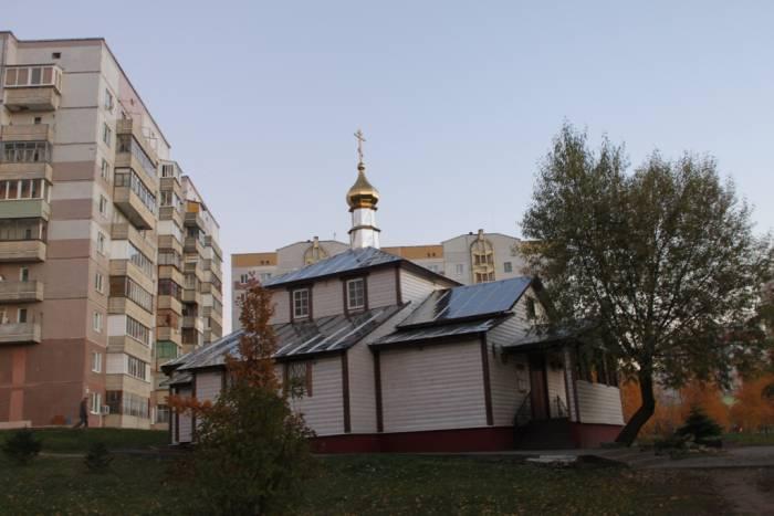 церковь Андрея Первозванного, Витебск, Юга, Чкалова