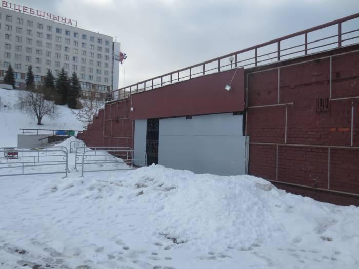 Пункт проката коньков возле Летнего амфитеатра закрыт. Фото: Аля Покровская