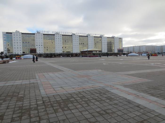 Исчезнувший каток на площади Победы. Фото: Аля Покровская