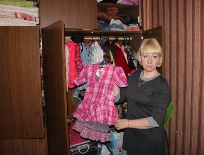 У Машеньки целый шкаф вещей. Фото Саши Май