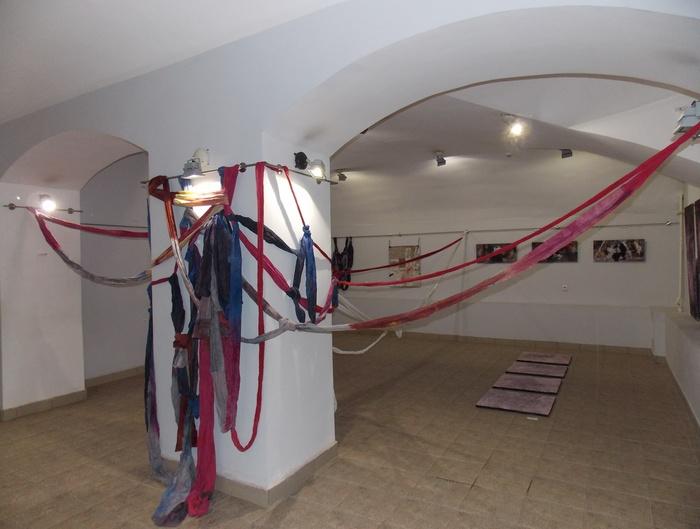 Ганчарова, инсталляция, Корженевский