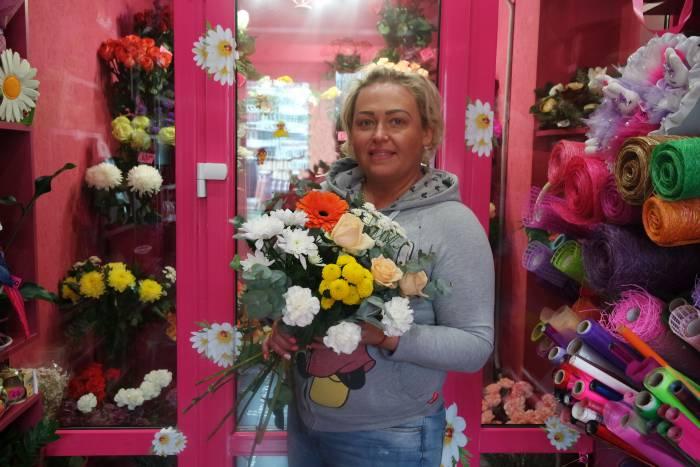 """Красочная Наталья Бухтиярова из салона """"Расцветай"""""""