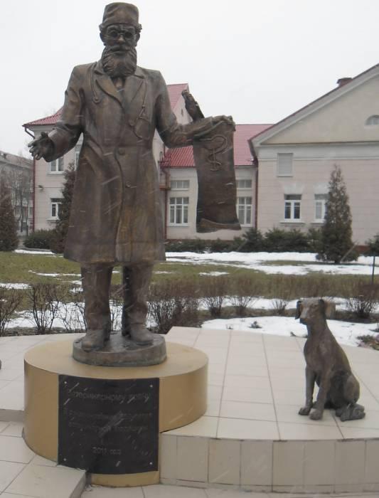 витебск, ветеринарная академия, памятник Айболиту