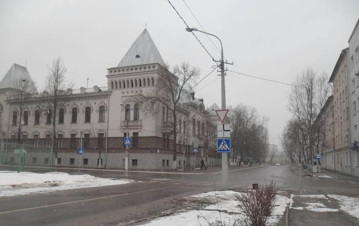 Витебск, улица Доватора, Баумана