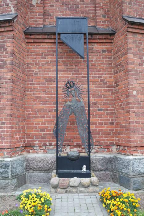 Памятник в Миорах. Фото: Ольга Витебская