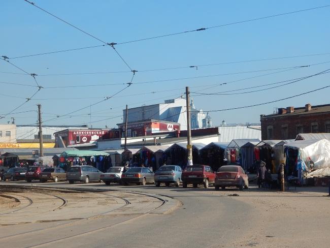 Колхозная площадь. Фото: Евгения Москвина