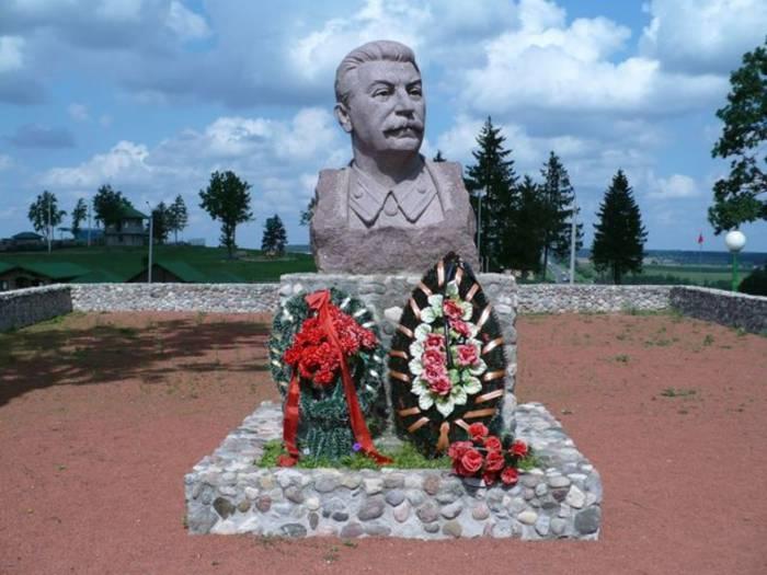 сталин в заславле