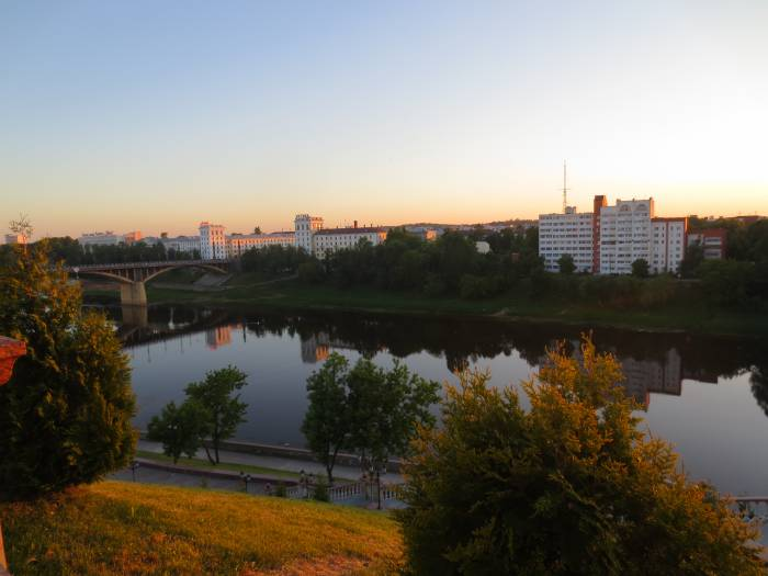 Витебск - город на Двине. Фото Аля Покровская