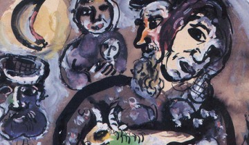 454-292-Les_Paysans_by_Marc_Chagall