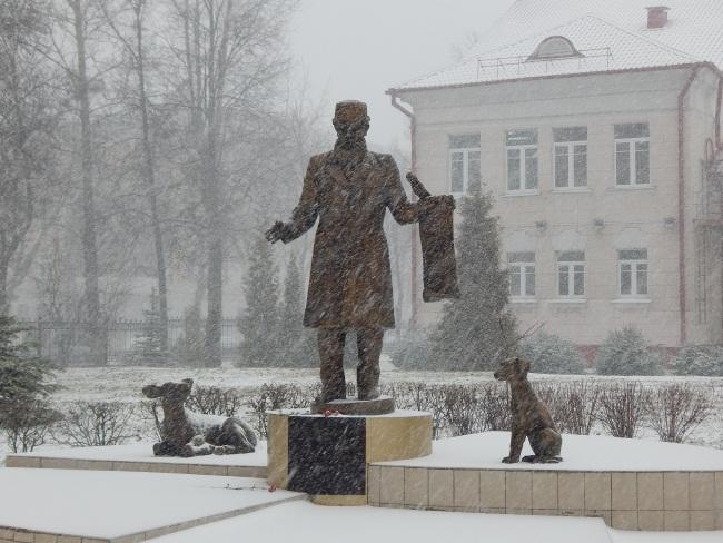 памятник ветеринару в Витебске, Ветеринарная Академия,