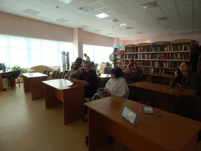 научно-техническая библиотека в Витебске, лекция по урбан-дизайну