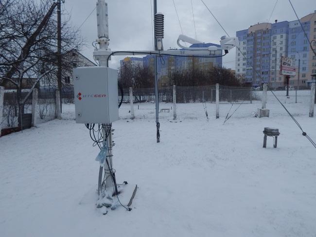 метеостанция, витебск, датчики