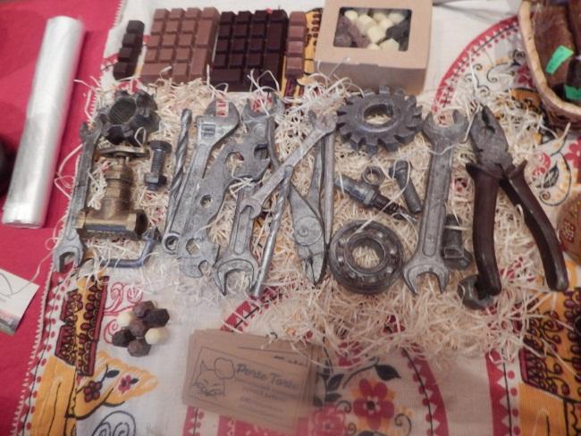 шоколад, шоколадные инструменты, выставка в задвинье