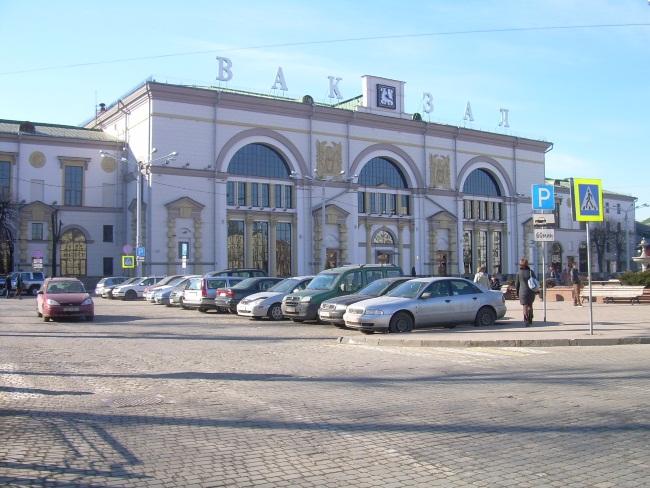вокзал витебска, ж\д вокзал
