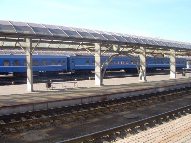 поезд, вокзал, витебск