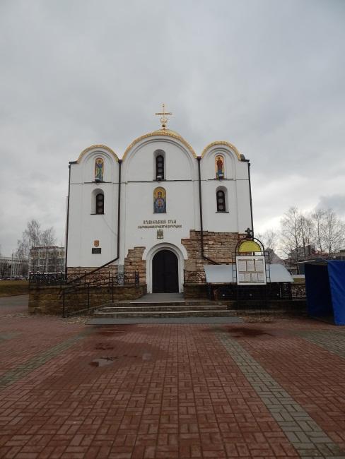 храм благовещения, витебск, площадь тысячелетия