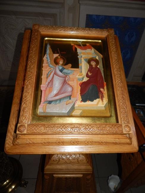 икона, храм благовещения, праздник благовещения