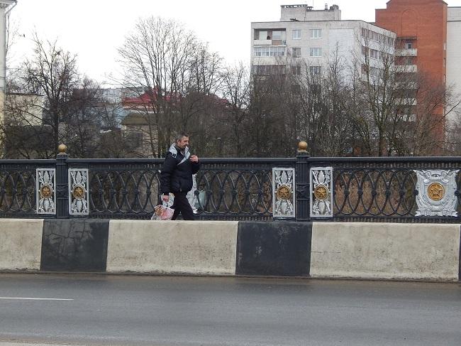 курильщик, мост кировский