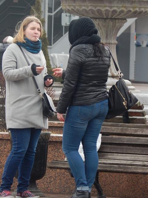 сигарета, девушка курящая