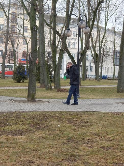 парк, курильщик, парк у вокзала