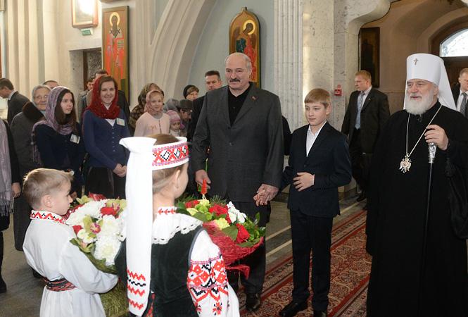 Лукашенко, православие, Корженевский