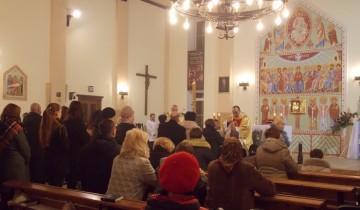 Евхаристия, Литургия, католичество, Корженевский