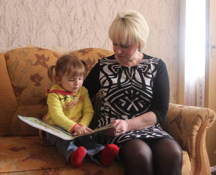 болбасово, внучка с бабашкой