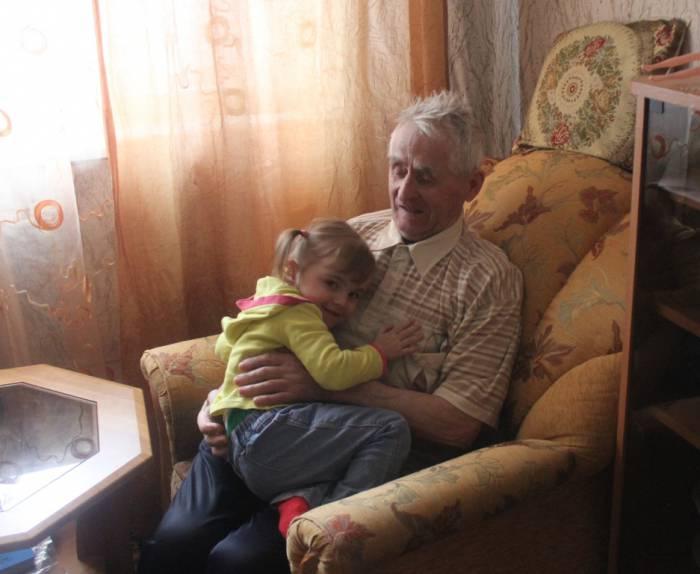 болбасово, прадедушка и правнучка