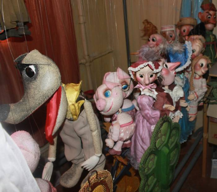 """театр """"Лялька"""", куклы"""