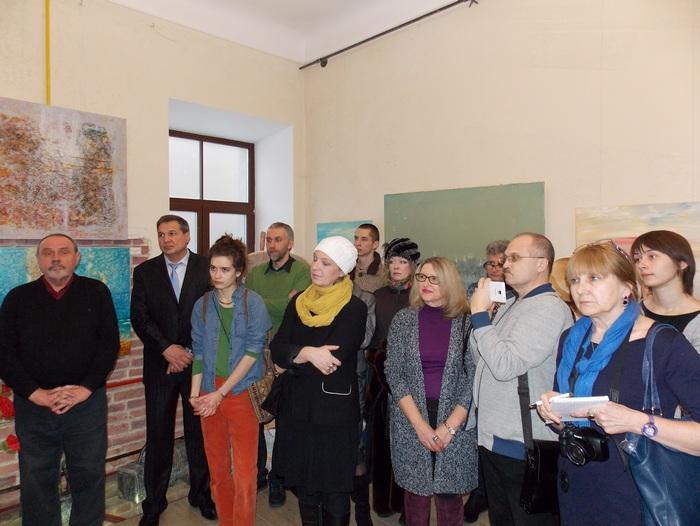 Радюк, выставка, Корженевский