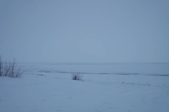 Озеро в разгар зимы. Фото Анастасии Вереск