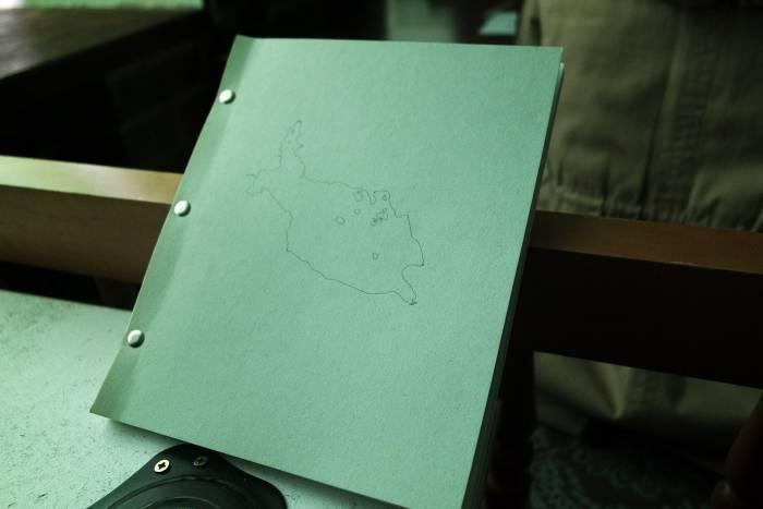 """Фотокнига """"Очень большое озеро на очень далеком востоке"""". Наталья отметила, что при создании фотокниги важным решением также является выбор формата и бумаги для будущего издания. Фото Анастасии Вереск"""