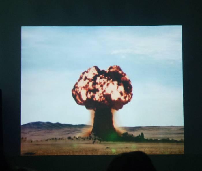 Фото из новой серии о полигоне для испытаний ядерного оружия. Фото Анастасии Вереск