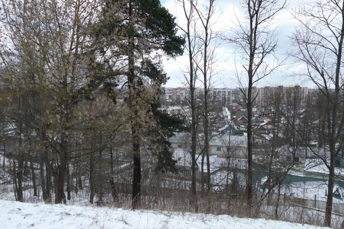 Вид с Юрьевой горки на город. Фото Анастасии Вереск