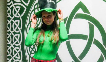 На День святого Патрика каждый может быть немного ирландцем. Фото Анастасии Вереск