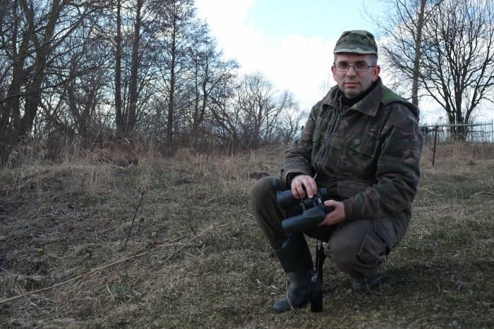 Орнитолог Виталий Кощеев. Фото Анастасии Вереск