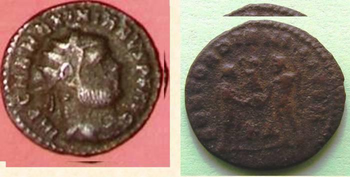 монета, динарий, Миоры