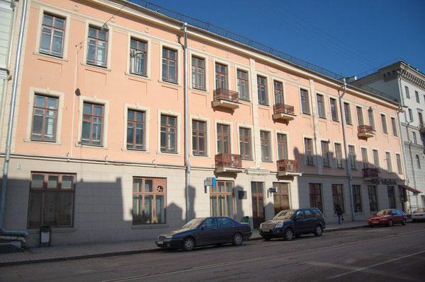здание, минск, БНР