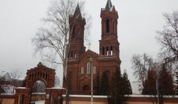 витебск, костел, святой Варвары