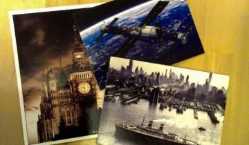 Некоторые из открыток, присланных Марии. Фото из личного