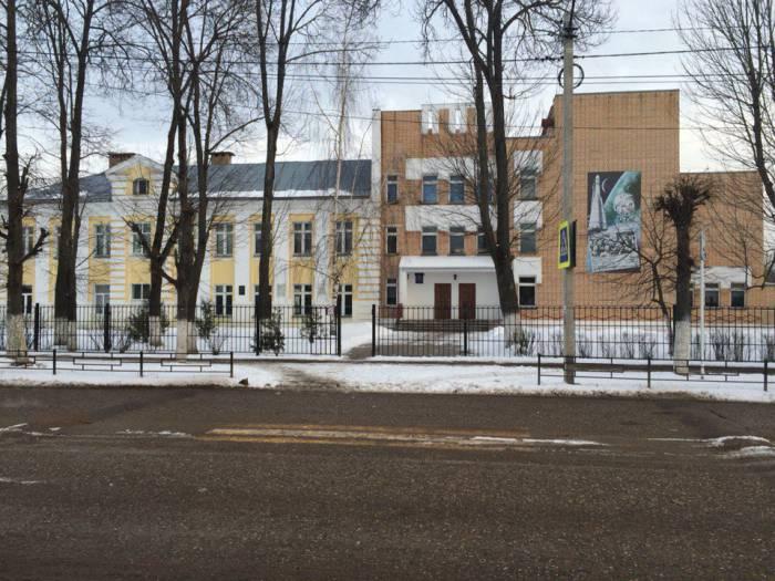 Школа, в которой учился Юрий Гагарин. Фото: Аля Покровская