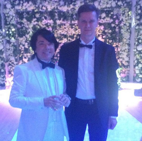 С Валентином Юдашкиным. Фото из соц. сетей.