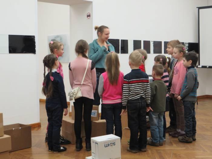 Знакомимся с творчеством Шагала. Фото: Аля Покровская
