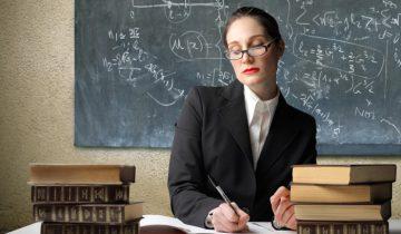 учитель, учитель за работой, учитель у доски