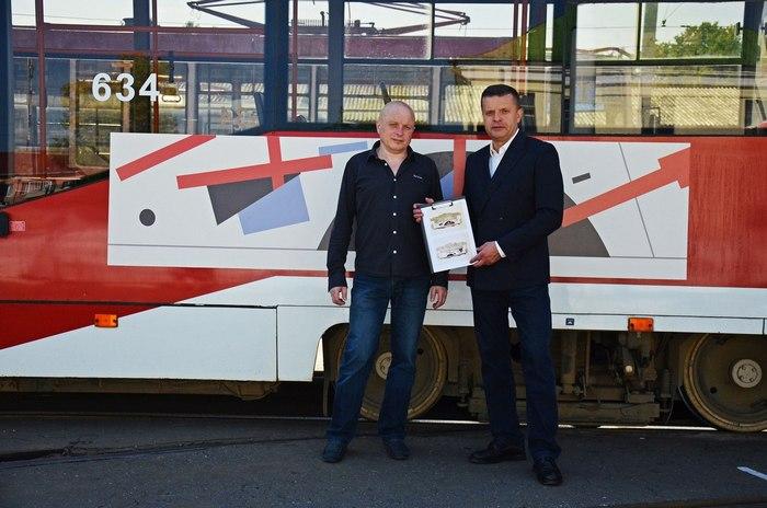 Александр Вышка и Леонид Парфёнов. Источник: соцсети