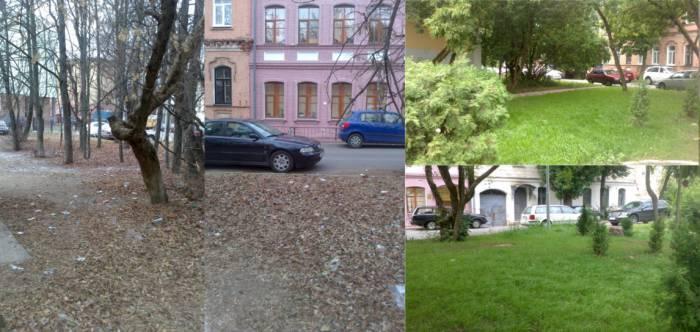 Было и стало. Прогресс очевиден. Фотографии предоставлены Галиной Пиловец.