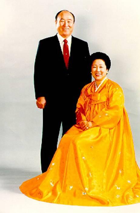 доктор мун с супругой