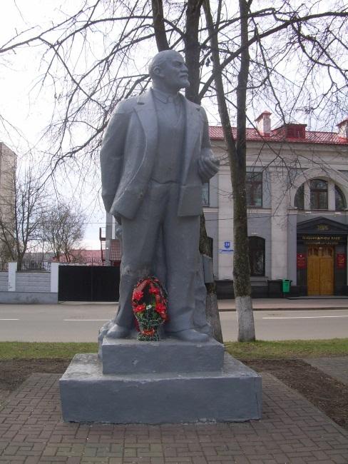 памятник ленину в полоцке, ленин, музей ленина